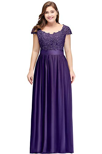 Women S Elegant Formal Dress Plus Size Long Lace Mother Of The Bride Dress For Wedding Guest Dark Purple Size10,Red Pakistani Wedding Dress Bridal Lehenga