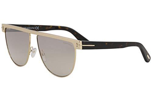 Tom Ford FT0570 28G Shiny Rose Gold Stephanie Retro Sunglasses Lens Category 2