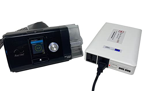 Zopec EXPLORE 8000 CPAP Battery Backup Power Supply (3-4 Nights). Automatic Switch in Power Outage. Uninterrupted Sleep! Works with All CPAP Brands. Sleep All Night with Humidifier!