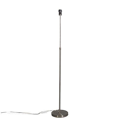 QAZQA Moderno Lámpara de pie vintage ajustable oro/latón - PARTE Metálica Alargada Adecuado para LED Max. 1 x 60 Watt