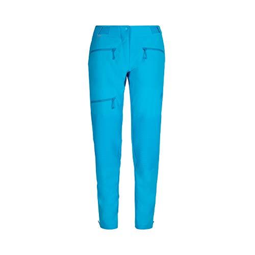 Mammut Damen Softshell-hose Pordoi, blau, 46 short