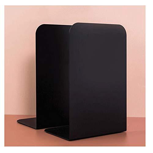 LOMJK Reggilibri Metallo Creativo Bookends Prenota Sostegno Desk dell'organizzatore del Supporto Storage Desktop Bookshelf Student cancelleria Fornitura Creativo fermalibri