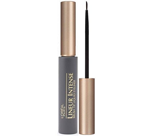 L'Oreal Paris Lineur Intense Brush Tip Liquid Eyeliner, Black, 0.24 Ounces by L'Oreal Paris