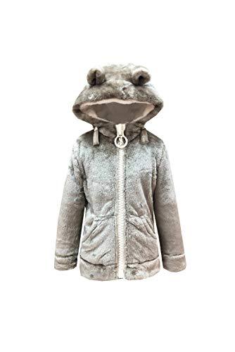 NIRVANA AMAZING STARKIDS-CA/OFFWH-12ANS Sweatshirt à Capuche, Camel/Off White, 12 Ans Fille