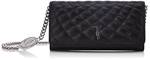Trussardi Jeans Damen PRE Daisy Wallet ON Chain Smooth Quilting Reisezubehör- Brieftasche, K299, NR