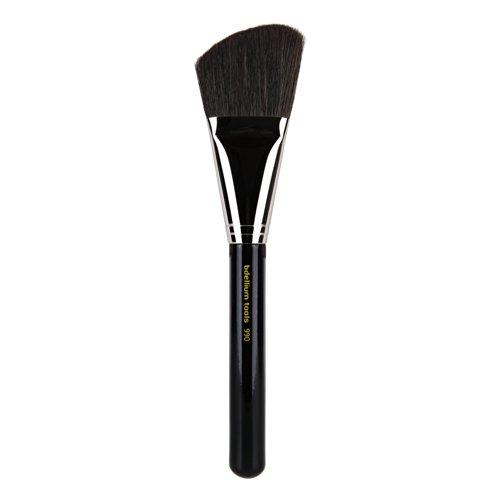 Bdellium Tools - Pennello viso, serie Maestro, inclinato, professionale e antibatterico