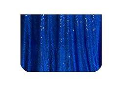 Blue Sequins Tablecloth