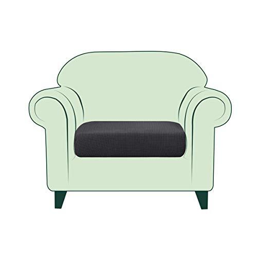 fodera cuscino divano CHUN YI Copricuscino Divano Elasticizzato Copriseduta Protezione Cuscino del Divano per 1 Posto Sedia