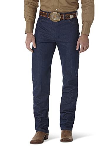 Wrangler Men's Cowboy Cut Original Fit Jean, Rigid Indigo, 34W x 32L