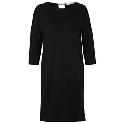 Deik&Dunes Aafje - Punta di Roma Kleid in schwarz, Größe M