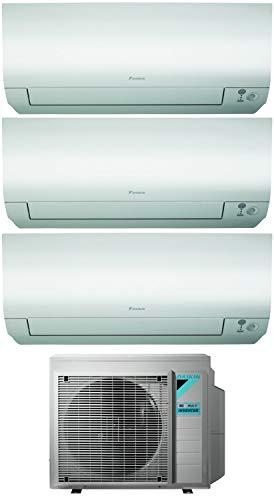 Climatizzatore Trial Split 9000 + 9000 + 12000 Btu, Inverter, Classe A+++/A+++ Gas R32 Wi-Fi Perfera