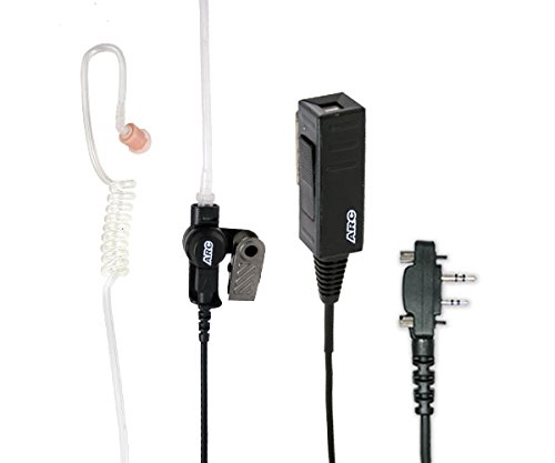 Read About ARC T23021 Two-Wire Surveillance Earpiece Kit for Icom F Series Two Way Radios (See List)