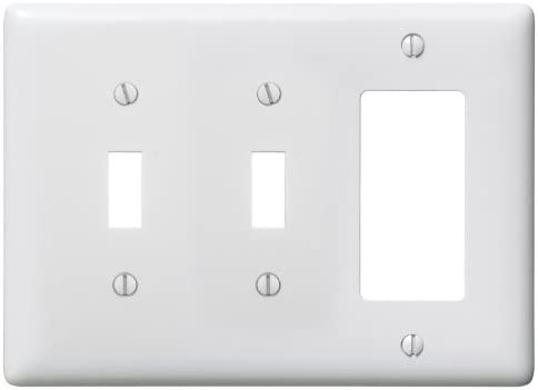 QTY 1 BRYANT IVORY 1 GANG RECEPTACLE DUPLEX COVER PLATE 82101