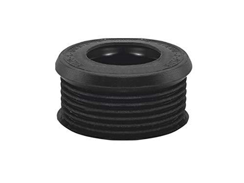 STEDO -100229- EURO Gummiverbinder, schwarz, für Spülrohr, Ø 55/38