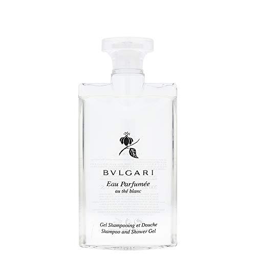 Bulgari Eau Parfumee Au The Blanc Shampoo und Duschgel, 200 ml