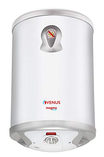 Venus Magma Plus 25GV 25-Litre Storage Water Heater (White,BEE Star Rating -...
