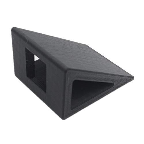 HELEISH Mobius Runcam 2 Titular cámara 3D de la impresora 30 grados de PLA for aviones no tripulados RC FPV Racing Piezas de montaje de bricolaje (Color : Black)