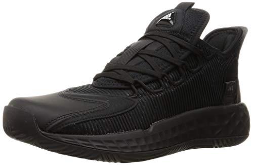 adidas Pro Boost GCA Low, Zapatillas de Baloncesto Unisex Adulto, NEGBÁS/NEGBÁS/NEGBÁS, 50 2/3 EU