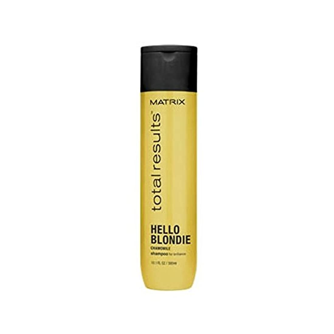 段階話す叙情的なマトリックスの総結果ハローブロンディシャンプー(300ミリリットル) x2 - Matrix Total Results Hello Blondie Shampoo (300ml) (Pack of 2) [並行輸入品]