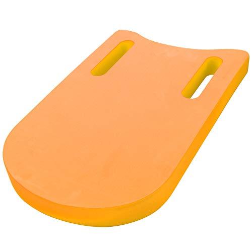Crisist Tabla Flotante de práctica de EVA, Tabla de natación en el Agua de la Aptitud, para Aprender la Piscina(Naranja)