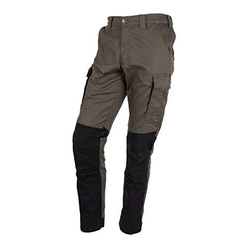 FORSBERG Ulkona robuste Bundhose Outdoorhose Full-Stretch mit Cordura® Stretch, Farbe:Oliv, Größe:54