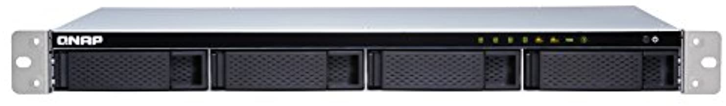 QNAP TS-431XeU-8G-US 4-Bay 1U Short-Depth Rackmount NAS (8GB RAM Version) with Built-in 10GbE Network