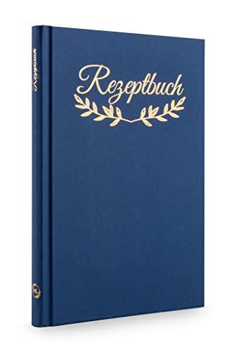 MKL-XXL Rezeptbuch zum Selberschreiben,Ausfüllen 148 Seiten DIN B5 Hardcover Kochbuch selbst schreiben Backbuch Kochen Geschenk Rezepte Ordner Lieblingsrezepte leeres Buch zum selbstgestalten