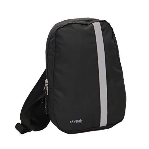 Skypak Micro 0022 Black Single Strap Backpack 30x21x7.5cm