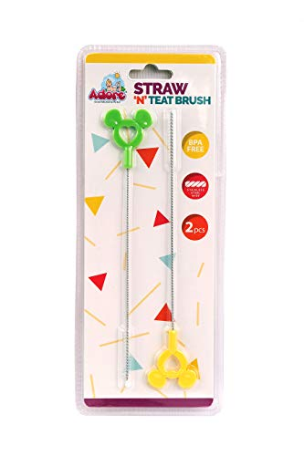 Adore Straw and Teat Cleaning Brush,Pack of 2
