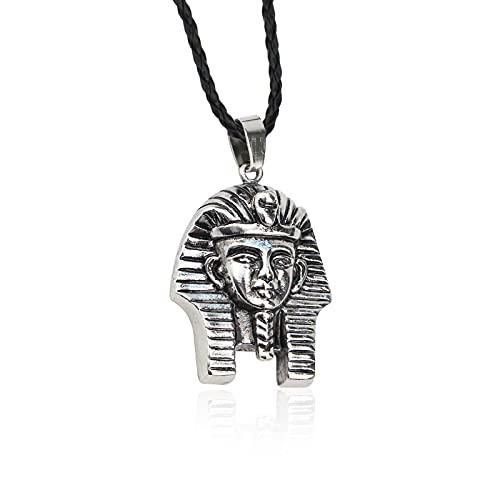 Collares Con Colgante De Mujer Vintage Para Hombre, Collar Con Colgante De Esfinge De Faraón Egipcio, Joyería Creativa De Moda