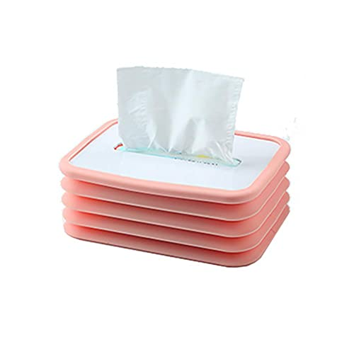 Lubudup Caja para pañuelos de papel, caja para pañuelos, caja para dispensador de pañuelos, caja rectangular para restaurantes, hoteles, oficinas, dormitorios y salones, 20 x 13,5 x 11 cm