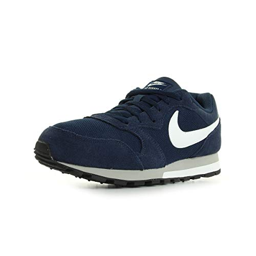 Nike Herren Md Runner 2 Gymnastikschuhe, Blau (Midnight Navy/White-Wolf Grey 410), 44