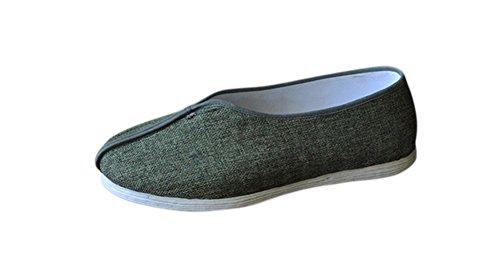 Zapatos de Artes Marciales Kung Fu/Tai Chi - Cojín Lujoso Cómodo Suela Cosida a Mano de 8 Capas #302
