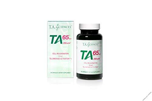 Ta-65(250unités) 90capsules Télomérase Activation Technologie T.a.-plateau Specialites TA Sciences Emballage Premium
