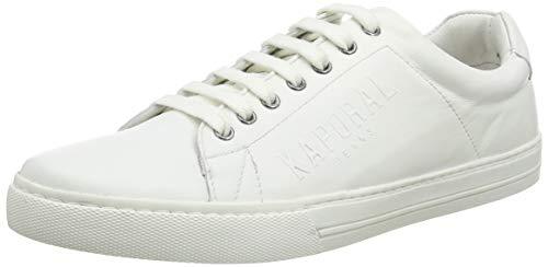 Kaporal Lenny, Baskets Hommes, Blanc (Blanc 70), 43 EU