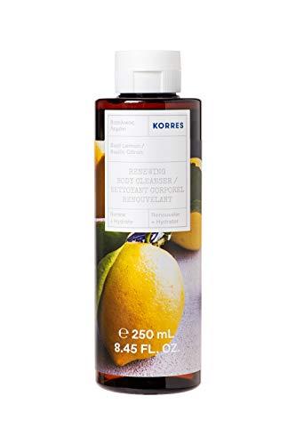 KORRES BASIL LEMON Revitalisierendes Duschgel, 250 ml