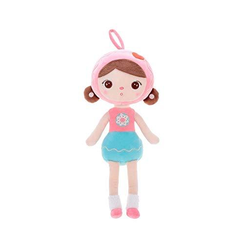 Boneca metoo jimbao docinho 33 cm, Metoo, Rosa Claro