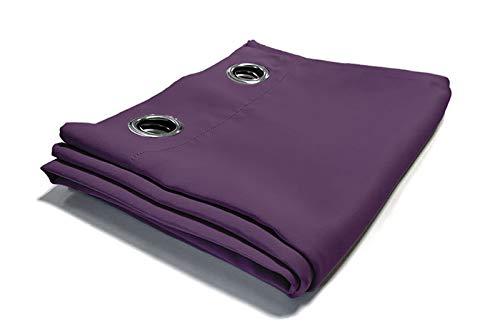 cortinas termicas lila paquete 2