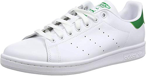 adidas Originals Stan Smith, Sneakers Unisex - Adulto, Bianco (Running White Ftw/Running White/Fairway), 38 2/3 EU