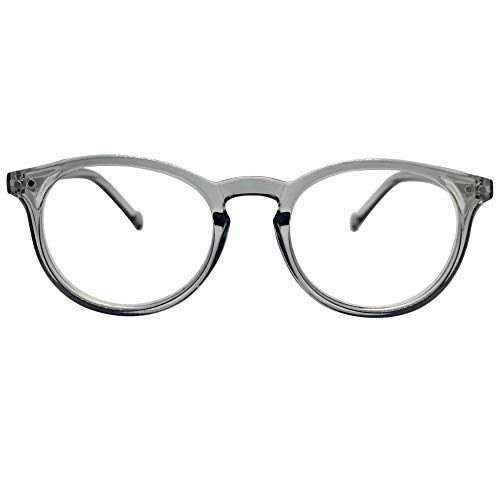 Seattle Premium Reading Glasses (Clear Grey, 1.25)