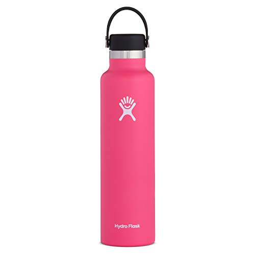 Hydro Flask Water Bottle - Standard Mouth Flex Lid - 24 oz, Watermelon
