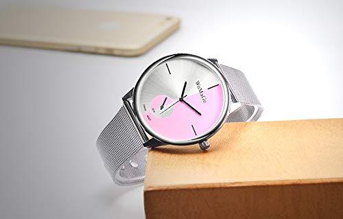 SJXIN Stilvolle Uhr WOMAGE Mode Damenuhr Modeuhren (Color : 1)