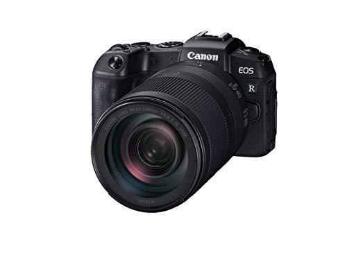Canon EOS RP - Cámara de 26.2 MP (CMOS, DIGIC 8, Dual Pixel CMOS AF, 5 imágenes por Segundo, Pantalla táctil LCD, 4K) - Kit con RF 24-240mm f/4-6.3 IS Nano USM (Reacondicionado)