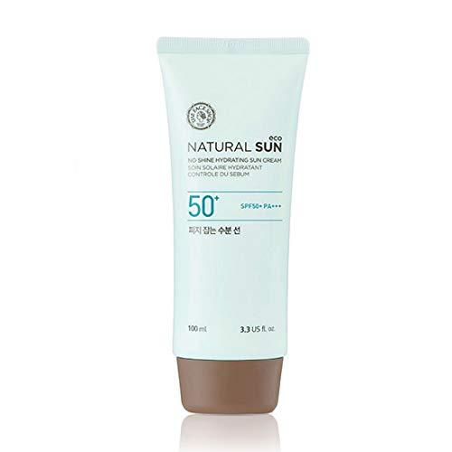 [The Face Shop] Natural Sun Eco Sebum Control Moisture Sun SPF 50+ PA+++ 100ml