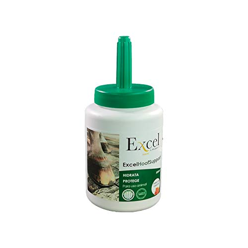 Excel Hoof Support 0,5 litros| Grasa Cascos Caballos| hidratante| (0,5)
