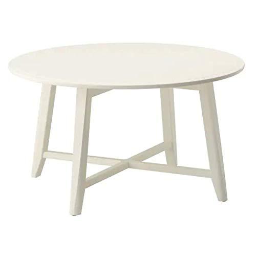 IKEA KRAGSTA Couchtisch in weiß; (90cm)