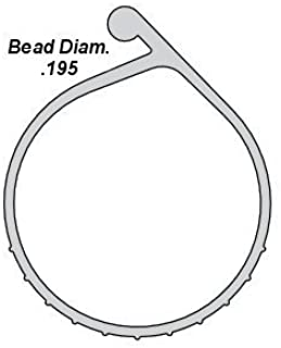 P-Bulb Bottom Weather Seal - Fits Overhead Door Models (16'4