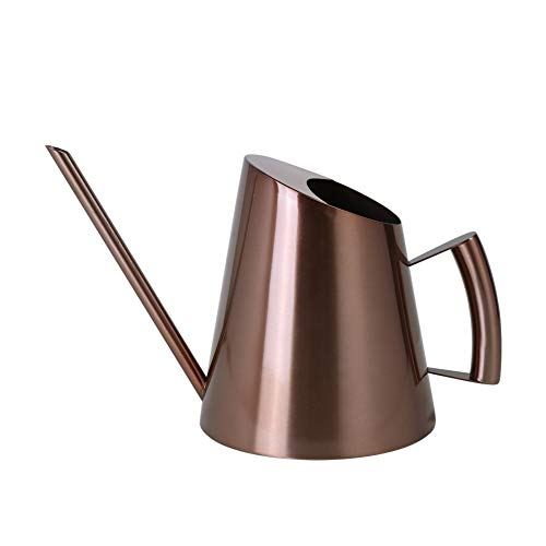 Fngedex 1500ML Stainless Steel Watering Can, Long Spout Watering Can, for Gardens Plants Indoor and Outdoor