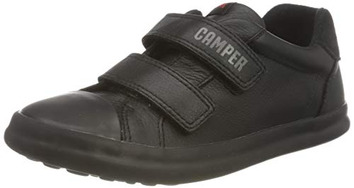 CAMPER Pursuit Kids Sneaker, Black, 35 EU