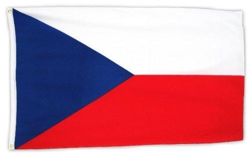 Fahne Tschechien 150 x 90cm mit Ösen